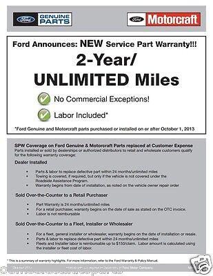 oem new 2015 ford f-150 headlight bulkhead pigtail wiring harness  cu2z14s411ada 4