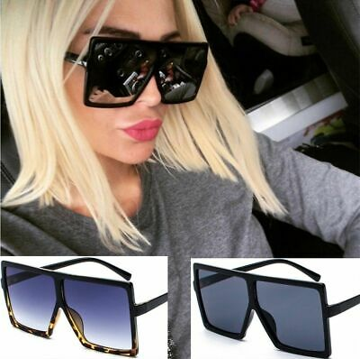 Oversized  Vintage Trend Square Sunglasses Classic Gradient Retro Glasses Women 2