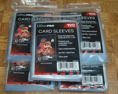 500 Ultra Pro Soft Trading Card Penny Sleeves Baseball Magic Pokemon Football 2