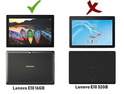 2 PACK Clear Screen Protector for Lenovo Tab E10 10.1 Inch 16GB Tablet 2018