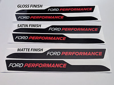 2018 FORD RAPTOR SVT F-150 HOOD COWL WITH FORD PERFORMANCE VINYL STICKERS DECALS