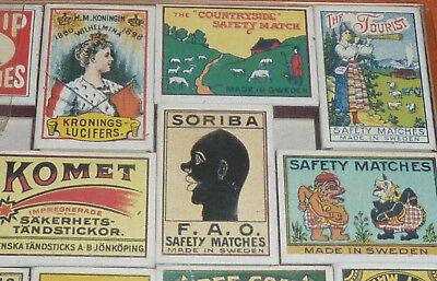 47 Streichholzschachteln Sammlung Reklame Werbung um 1900 Automobilia etc. 8