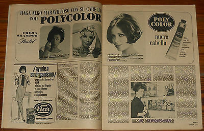 LECTURAS 1966 Duo Dinamico Jackie Kennedy Paul Newman Patricia Neal Omar Shariff
