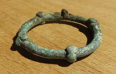 Scythian Bronze With Spikes Very Big Amulet-Symbol of Fertil 7-4th Century BC #1