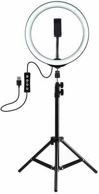 Anello Luminoso Treppiedi Video Luce Led Fotografia Cellulare Per Youtube Tiktok 2