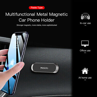 Strip Shape Magnetic Car Phone Holder Stand For iPhone Magnet Mount Accessories 5