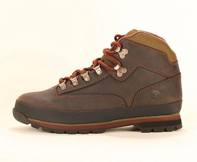 TIMBERLAND MEN'S CLASSIC LEATHER EURO HIKER Brown Ankle