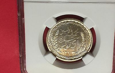 Tunisia Ah1372//1952 Silver 10 Francs Ngc Ms65 Extra Rare! Low Mintage! 7