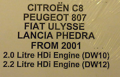 citroen c8 peugeot 807 fiat ulysse lancia phedra diesel workshop rh picclick co uk citroen c8 workshop manual pdf citroen c8 service manual pdf