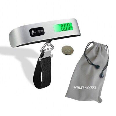 Pèse Bagage Electronique Portable Balance Numérique 50kg LCD Rétro-éclairé Peson 4