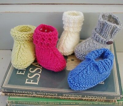 9f1e8968dcb EASY BABY BOOTIES Boots Shoes Gift Ugg Knitting Pattern Free Penguin Pattern
