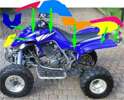 YAMAHA RAPTOR 660R full graphics kit green 2