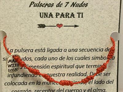 Amuleto 7 nudos de buena suerte y pensamientos positivos (sept.) 7