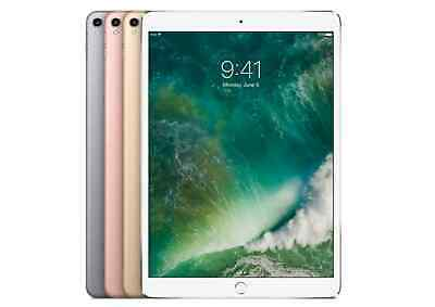 "Apple iPad Pro 10.5"" Wifi or Cellular, 64GB 256GB 512GB - Gray Silver Gold Rose 3"