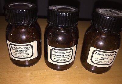 7 Braune Schraubgläser Apotheke Arzt Vorrat Tee Apothekerflaschen 3