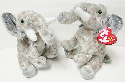 PE Pellets 2002 Mint w// Tag Ty Beanie Babies Pounds the Elephant