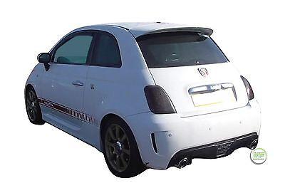Wind Deflectors compatible with Fiat 500 3 Doors 2007-2018 2pc