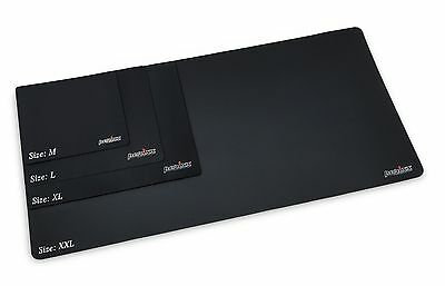 Perixx DX-1000M, Gaming Mauspad - 250x210x2mm - Anti-Rutsch schwarz mousepad