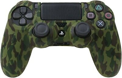 Camo Silicone Rubber Skin Case Gel Cover Grip for Playstation 4 PS4 Controller 12