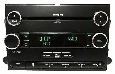 07 08 09 Ford EDGE F150 Explorer Radio MP3 6 Disc CD Changer Player  Subwoofer