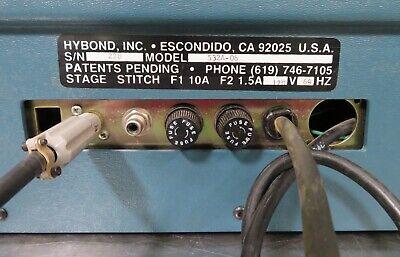 C163307 Hybond 572 532A 45° Feed Thermosonic Wedge Wire & Ribbon Bonder refurb'd 9
