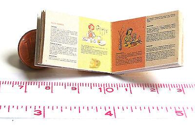 1002# Miniaturbuch-Struwwelpeter Nostalgie Puppenhaus M 1zu12 Puppenstube