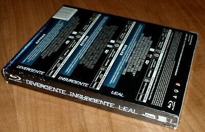 Saga Divergente Insurgent Loyal 3 Blu-Ray Neuf Scellé Action (Sans Ouvrir) R2 4