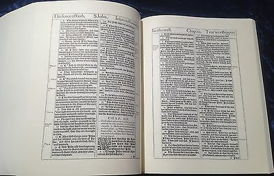 1611 King James Bible, 1st Edition 8