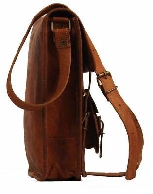 Aktentasche Umhängetasche Lehrertasche Schultasche Leder Tasche spitze Indian 3
