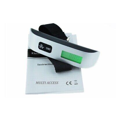 Pèse Bagage Electronique Portable Balance Numérique 50kg LCD Rétro-éclairé Peson 2