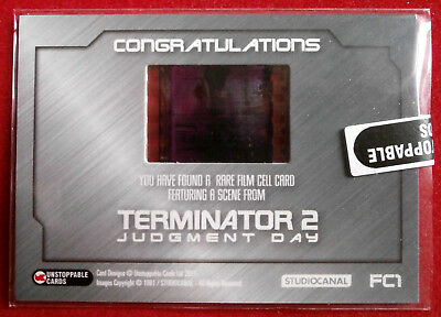 TERMINATOR 2 - JUDGMENT DAY - T2 - Film Cell Card FC1 - Unstoppable Cards 2017 2