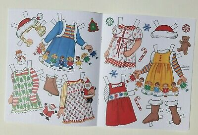 *NEW!* CANDY CANE CHRISTMAS Paper Dolls - Super cute! By Eileen Rudisill Miller 5