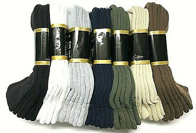 3 /6 /12 / Pair Non-Binding Top DIABETIC Colors Ankle Sock Size10-13 & 9-11 USA 2