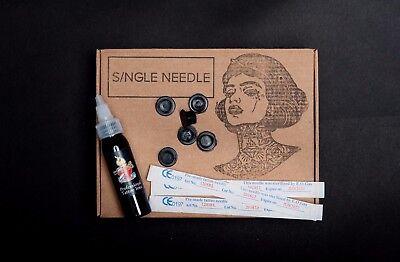 Single Needle - Hand Poke TOP UP Tattoo Kit