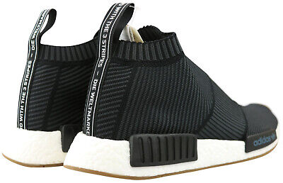ADIDAS NMD CS1 PK Primeknit Herren Sneaker Schuhe schwarz