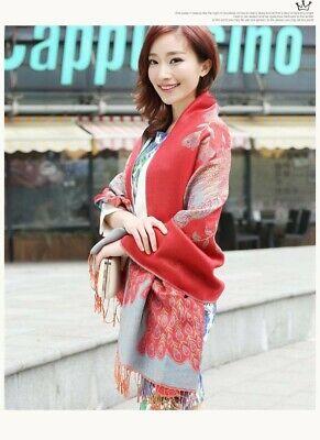 US SELLER- 20 Discount Scarves retro paisley peacock wholesale pashmina shawls 7