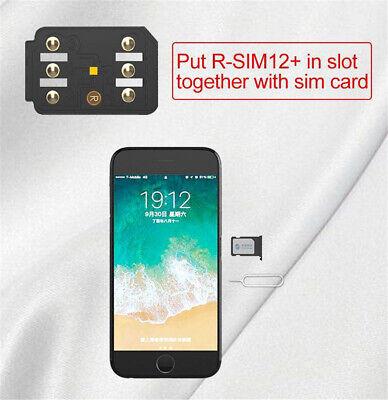 RSIM 12+ Plus 2019 R-SIM Nano Unlock Card fits iPhone X/8/7/6/6s 4G iOS 12.3 Lot 3