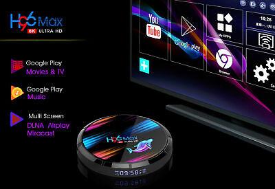 2020 H96 MAX X3 4GB+32GB Android 9.0 TV Box Smart Amlogic S905X3 Dual WIFI BT UK 5
