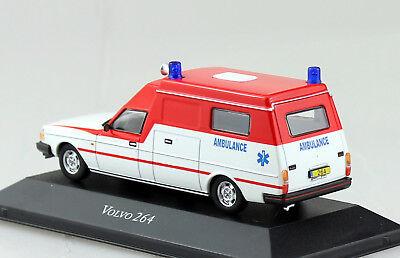 Citroen Type H Krankenwagen Fertigmodell Maßstab 1:43