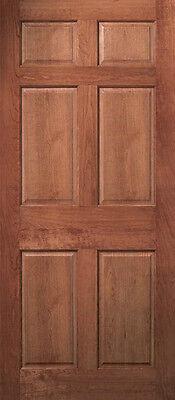 ... 6 Panel Raised Cherry Solid Core Stain Grade Stile U0026 Rail Interior Wood  Doors 3