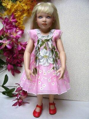 """Hanky Dress, Hat  PATTERN for 10"""" to 16"""" Dolls  Little Darling,  Bleuette, 12"""