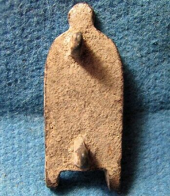 Ancient Byzantine bronze Christian Buckle with CROSS  6-8 cen.AD.