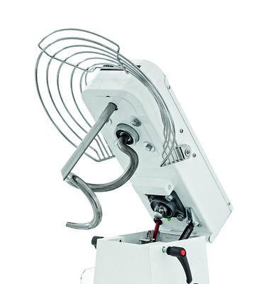 Teigknetmaschine Teigmaschine Spiralknetmaschine 42kg 48L 230V Eco Gastlando