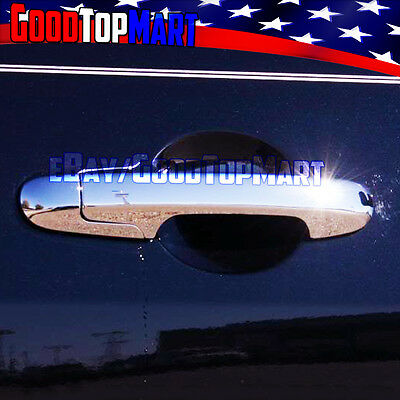 DZ1011 Chrome Door Handle Catch Covers fit for Honda Accord 2003-2007 ✿