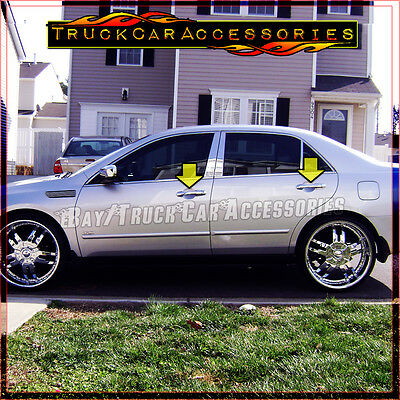 For Honda ACCORD 2003 2004 2005 2006 2007 Chrome 4 Door Handle Covers WITHOUT PK