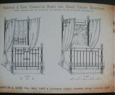 Victorian House Furnishings Designs Catalogue **(See Description For Details)** 7
