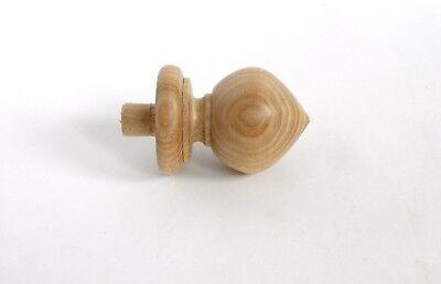 Finials, Wood Finial Post,  Clock, Craft  Wooden Furniture Cap Newel small 3 2