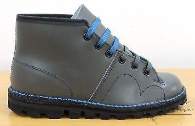 60a18a82d8c GRAFTERS THE ORIGINAL Monkey Boots Men's Women's & Kids Retro 60's Grey  Shoes