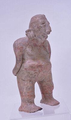 "Large Fine Pre-Columbian Pottery Figure  9 1/2"" x 5"" x 3"" 2"