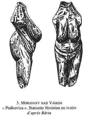 Venus of Moravany nad Váhom (Slovakia) - Cast of resin 7